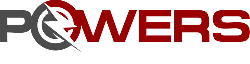 This is the logo for Powers Electrical Solutions | It has a lightning bolt in it. It has the words Powers Electrical Solutions in it.