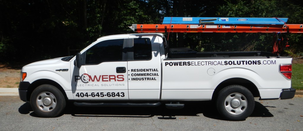 Electrician Smyrna GA -Powers Electrical Solutions service truck