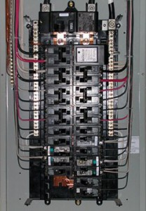 electrical services - electric repair of an electrical panel in Mableton, Ga